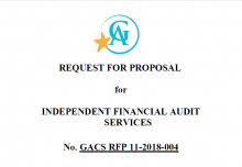 GACS is Soliciting Independent Auditing Services   Office of